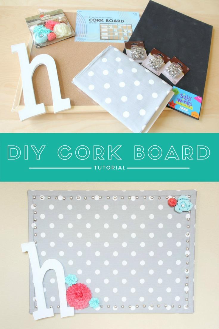DIY Cork Board