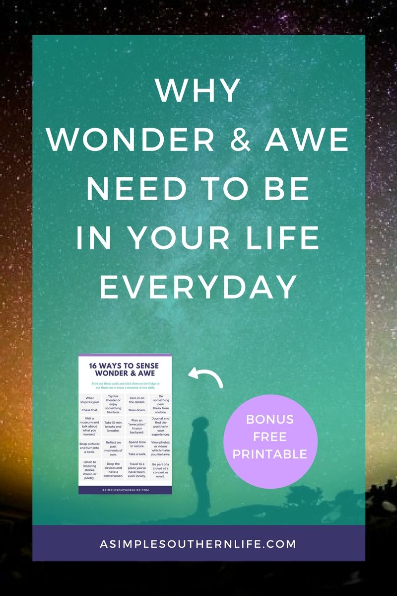 Ever felt stressed, anxious, or disconnected from loved ones? Here's how to make time slow down if even just for a moment. Experiences of wonder and awe may be just the ticket you need.
