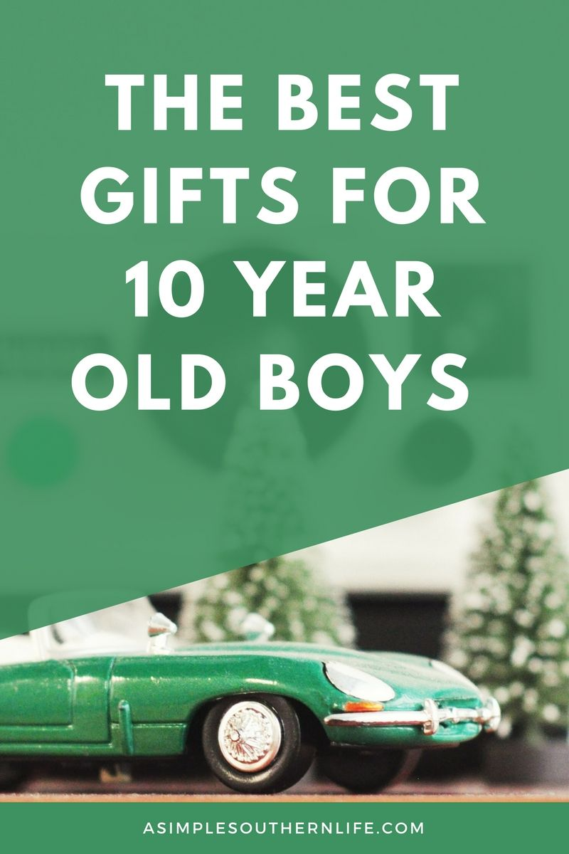 Does it get harder and harder to find just the right gifts? Especially gifts for 10 year old boys? The most popular or trending gifts aren't always the best gifts for our little men, so I've done the hard work for you.
